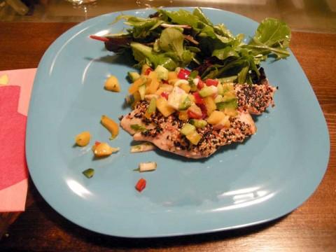 Seared Tuna at Hipcooks