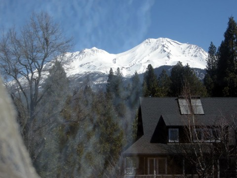 View of Mount Shasta, California