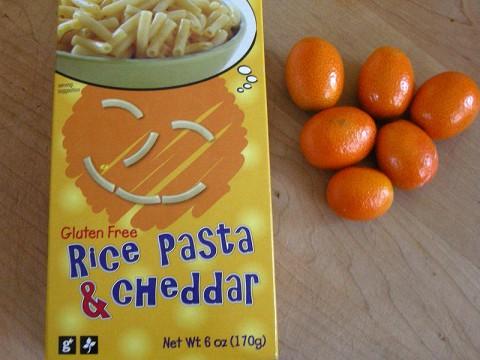 Trader Joe's Gluten Free Rice Pasta & Cheddar