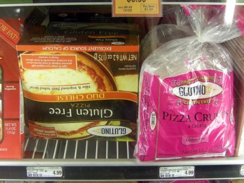 Glutino Gluten Free Frozen Pizza
