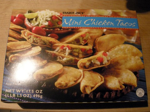 Trader Joe's Mini Chicken Tacos