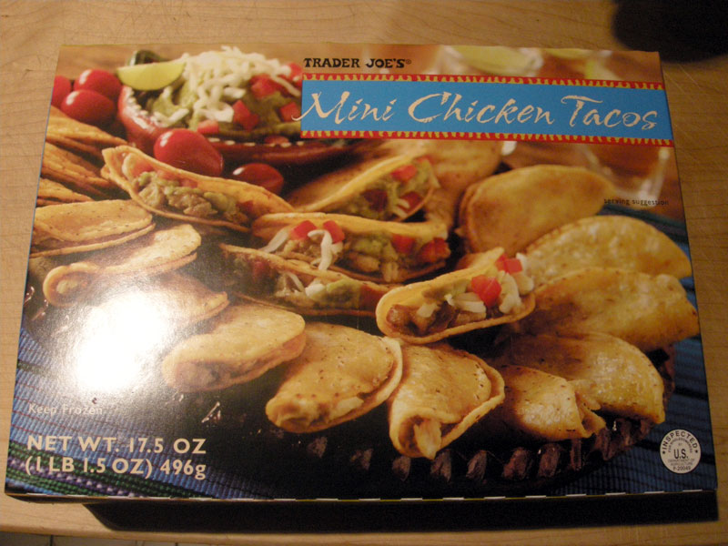 Product Review Trader Joes Mini Chicken Tacos Gluten Free Portland