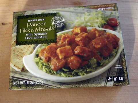 Trader Joe's Gluten Free Indian Food