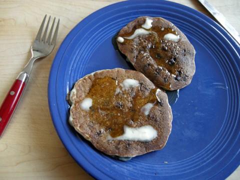 Gluten-Free Blueberry Pancakes!