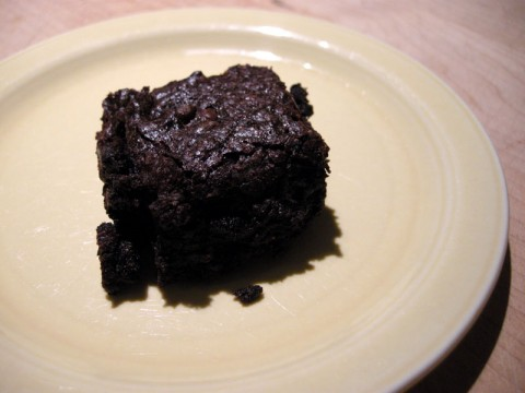 Finished Brownie