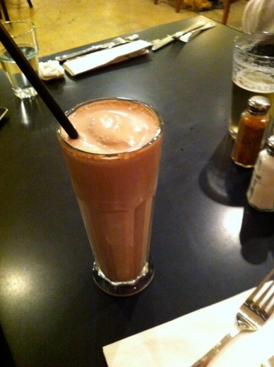 Vegan Chocolate Shake
