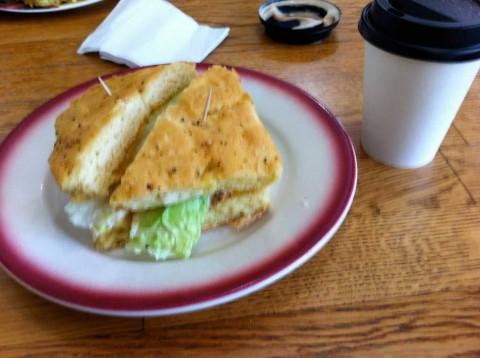 gluten free tuna salad sandwich