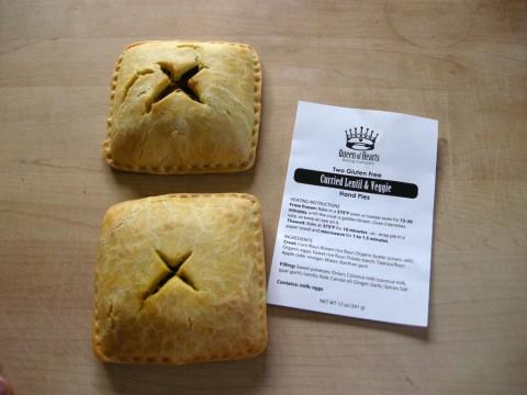 Queen of Hearts Gluten Free Pies