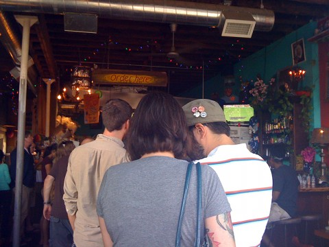 The Line at Por Que No Hawthorne