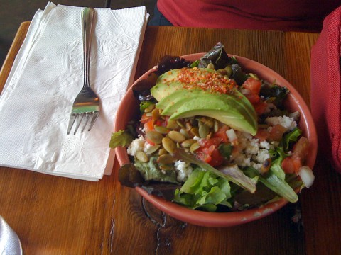 Salad at Por Que No