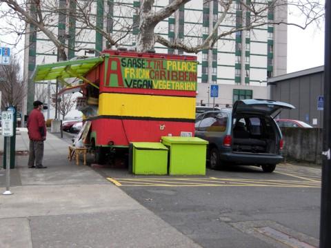 Asaase Ital Palace Food Cart
