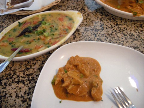 Dal and Chicken Korma - Gluten-free Indian Food