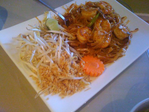Gluten Free Pad Thai at Thai Fress