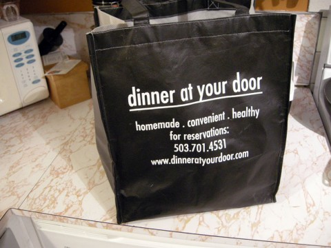 Dinner at Your Door delivered.