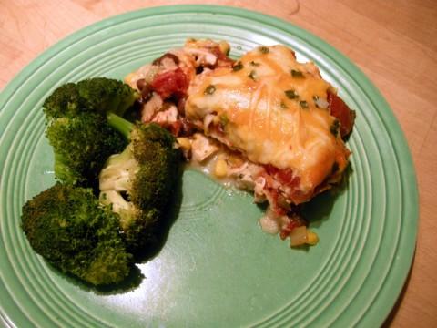 Mexican Chicken Cassarole