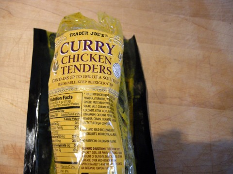 Trader Joe's Curry Chicken Tenders