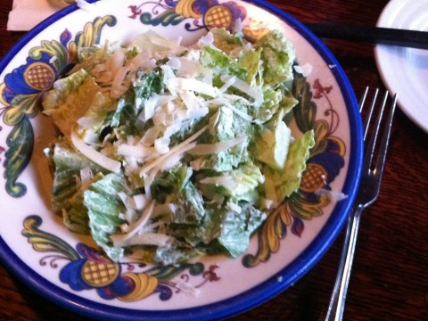 Ceasar Salad at Gustav's