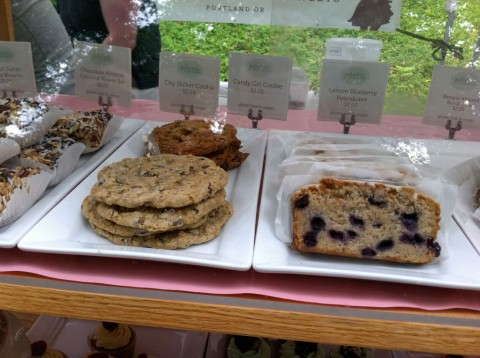 Gluten Free Cookies and Pound Cake at Petunia's