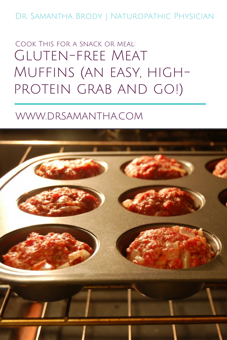 Cook This: Gluten-free Meat Muffins (an easy, high-protein grab and go lunch!)