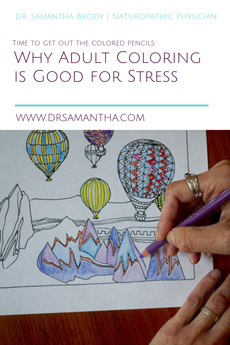 Why Adult Coloring is Good for Stress