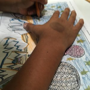 coloring with your kids