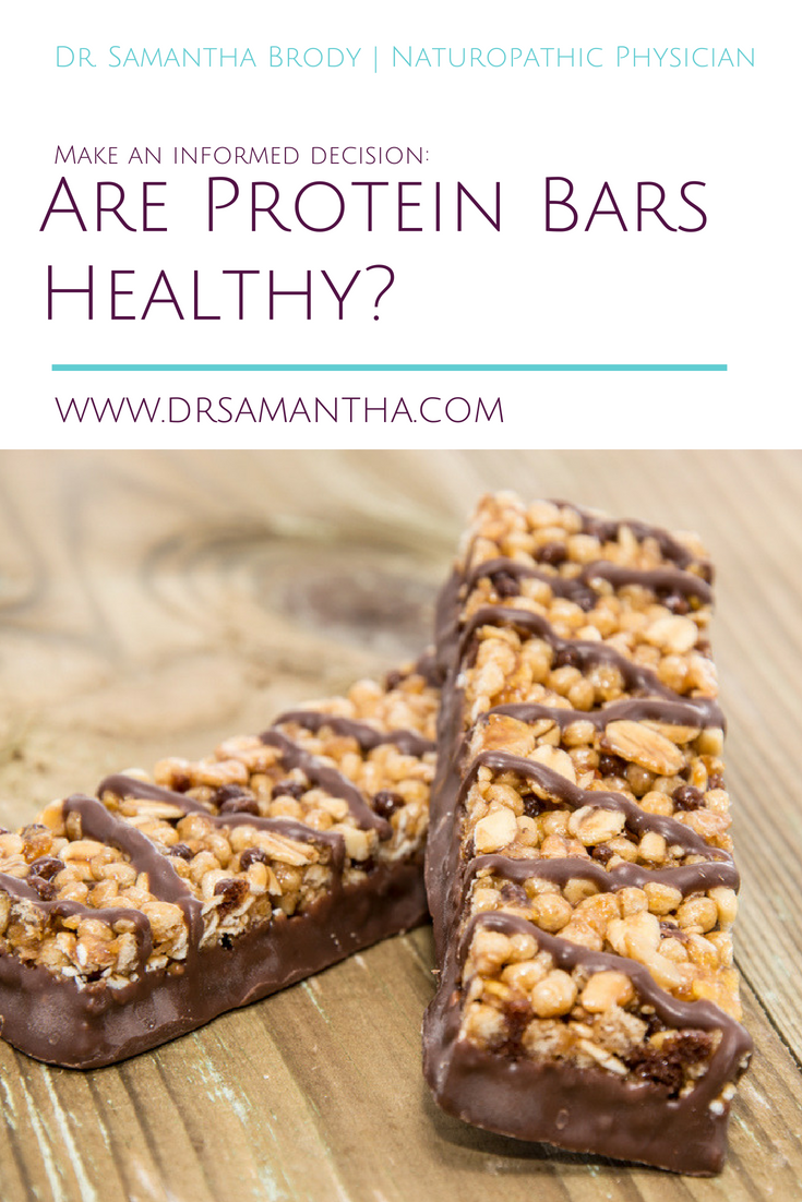 Are Protein Bars Healthy? Sometimes