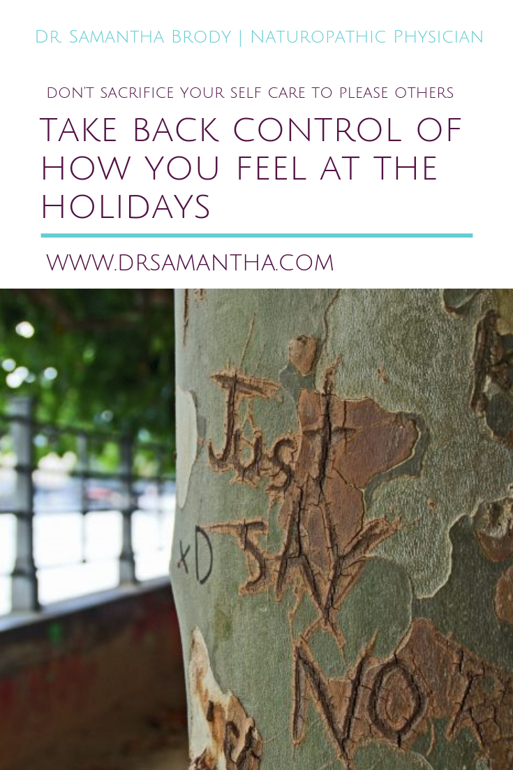 Take Back Control of How You Feel at the Holidays