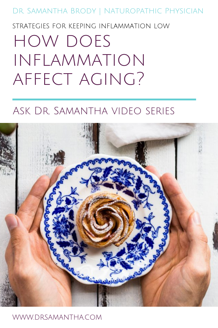 How Does Inflammation Affection Aging? | Ask Dr. Samantha Video Series
