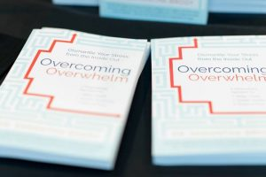 Dr Samantha's book Overcoming Overwhelm