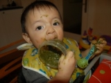 Seriously, HOW did you get your kid to eat those greens?